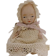 Antique All Bisque Bye-Lo ByeLo Baby Doll CUTE