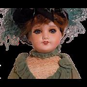 """19"""" French SFBJ UNIS France Lady Fashion Doll"""