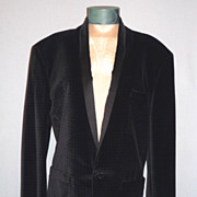 Vintage 1980s  Gianni Versace Evening Dinner Jacket