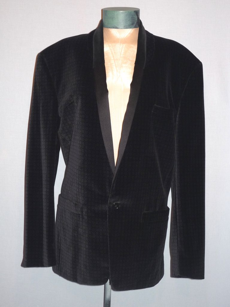Vintage 1980s  Gianni Versace Evening Dinner Jacket