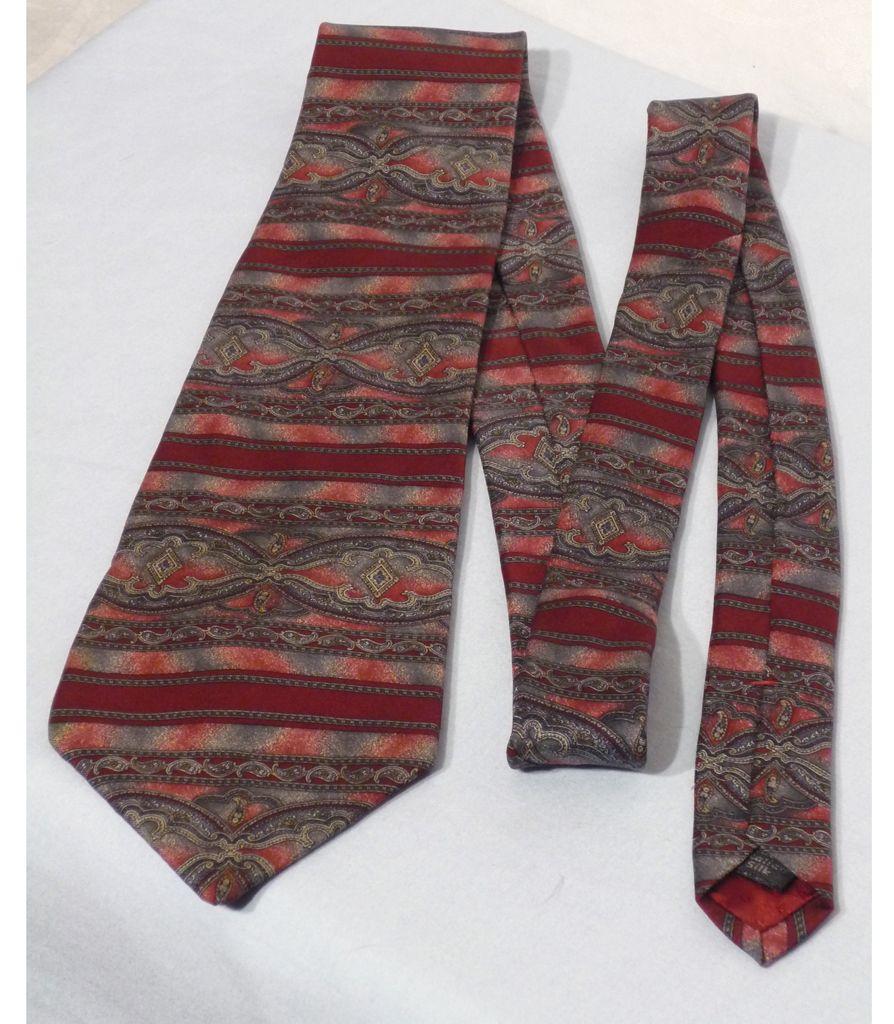 Vintage Halston  Paisley Silk Tie