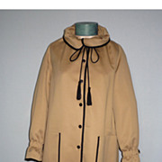 Vintage 1970s  Lassie Junior Coat All Weather Deadstock