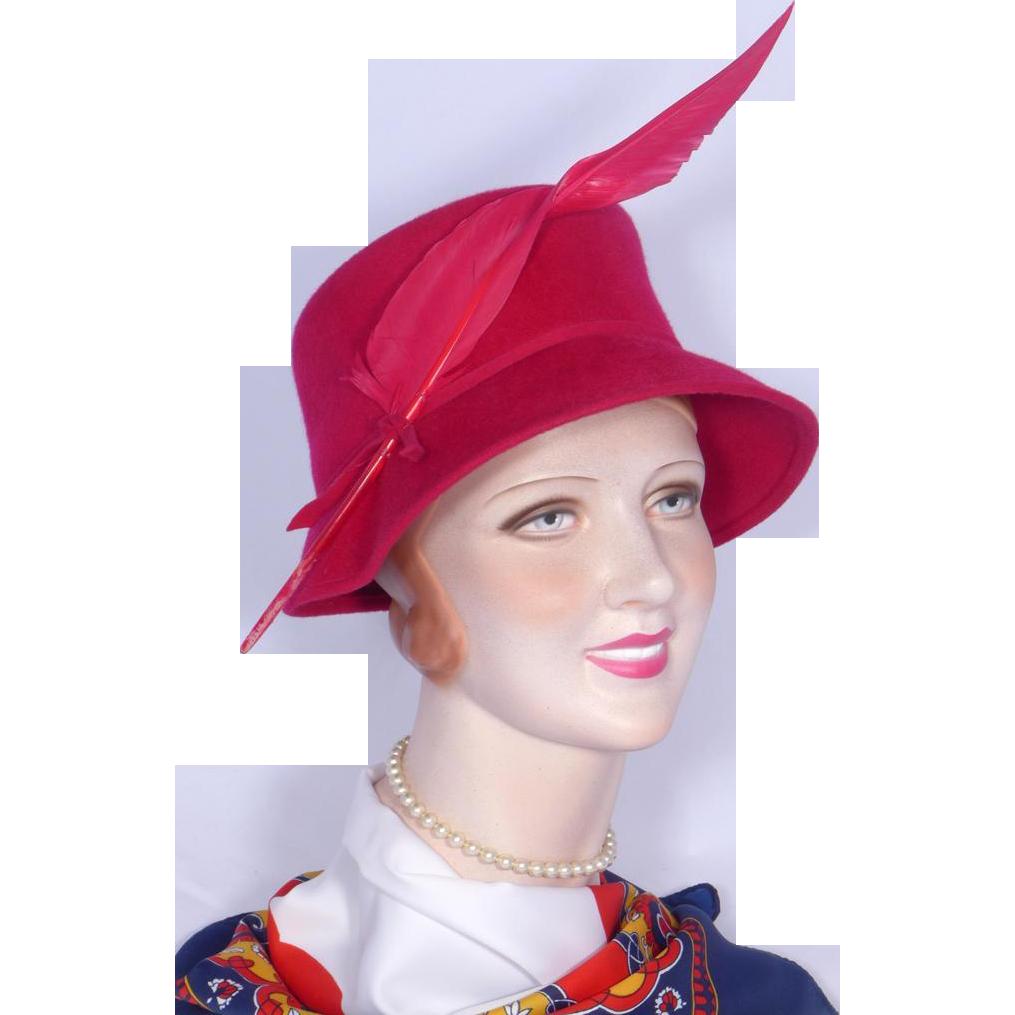 Vintage Red Hat 115