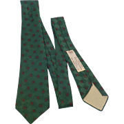 Vintage 1950s Silk Tie Welch Margetson & Co Ltd England
