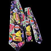 Nicole Miller Silk Print 1991 Necktie Things You Can Buy at PharMor