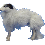 Vintage Fur Borzoi Dog for French Fashion Doll
