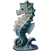 Rare Vintage Cast Iron Sea Horse Bottle Opener