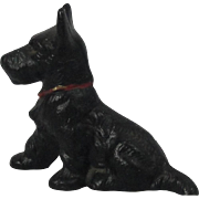 Hubley Cast Iron Scottie Dog Paperweight