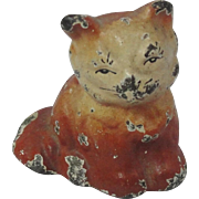 Cast Iron Miniature Cat Paper Weight