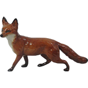 Large Beswick Fox