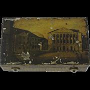 Antique Tole Music Box