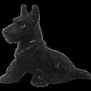 Hubley Cast Iron Scottie Dog Paper Weight