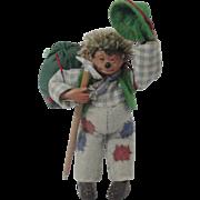 "Miniature ""Mackey"" Steiff Hedgehog Mountain Climber"
