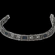 Simmons Sterling Silver Filigree Bracelet