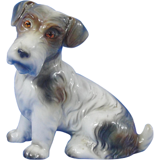 German Dog With Glass Eyes #8649 Perfume Lamp Night Light