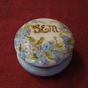 Hand-Painted and Signed  T & V Limoges Porcelain Covered Box