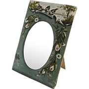 Antique Victorian Scenic Heavy Embossed Picture Frame