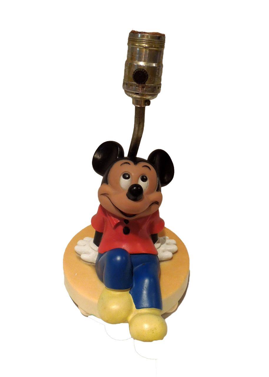 Vintage Mickey Mouse Table Lamp