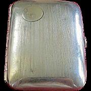 Sterling Silver Art Deco Elgin Evening Cigarette Case
