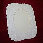 Vintage Lenox Porcelain Picture Frame