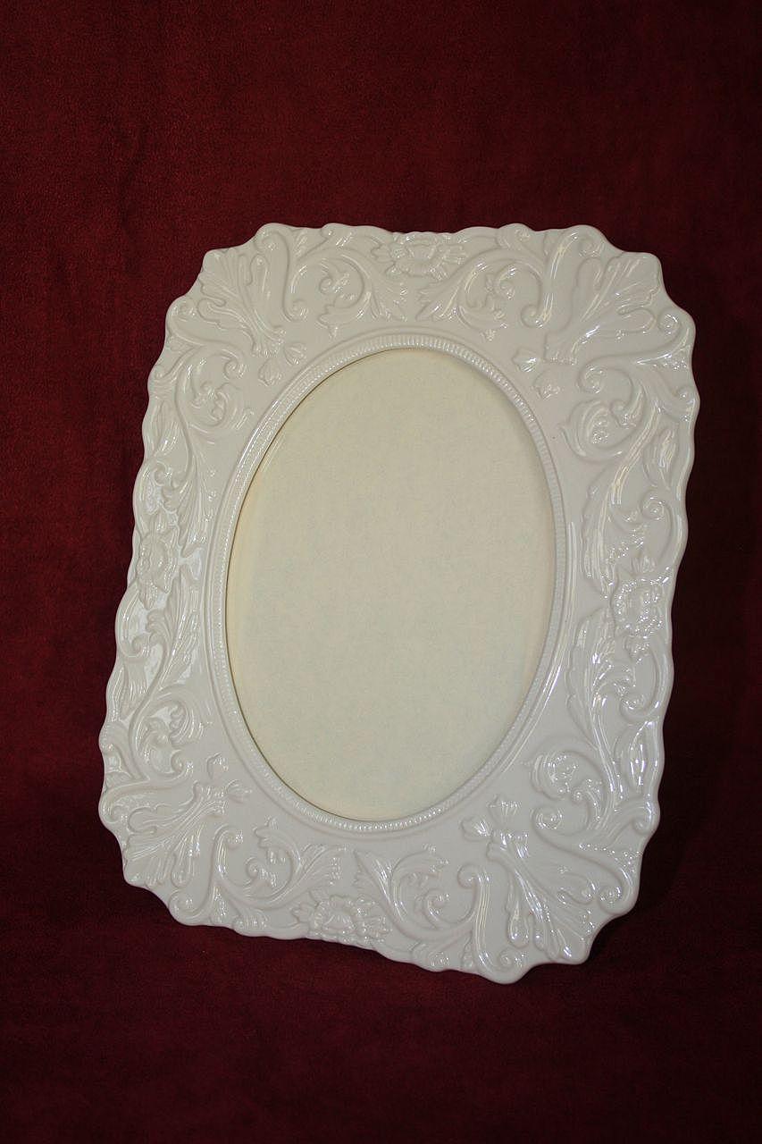 Vintage Lenox Porcelain Picture Frame From Nancysfancy On