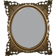 Beautiful 19th Century Gilt Wall Mirror