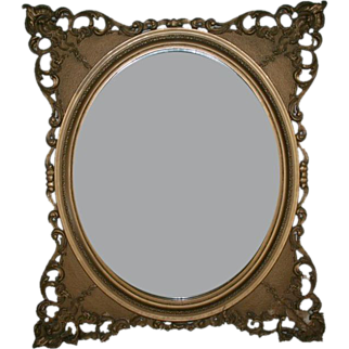 19th Century Beautiful Gilt Wall Mirror