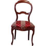 19th Century Mahogany Side Chair