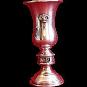 Vintage Sterling Silver 1950's ESCO Kiddush Cup