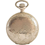 Antique Elgin Gold-Filled Ladies Joseph Fahys & Co. Hunter Case Pocket Watch