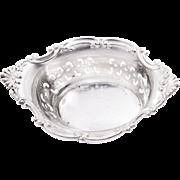 Vintage Sterling Silver Gorham Nut Dish