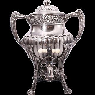 Vintage Reed & Barton Silver Plate Samovar Coffee/Tea Urn
