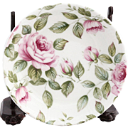 Vintage English Queens Rose Cottage Porcelain Dish