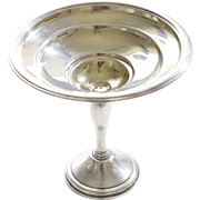 Antique Sterling Silver Berkeley International Pedestal Serving Dish