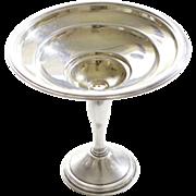 Antique Sterling Silver Berkeley International Pedestal Serving Dish