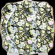 Empire England Vintage Porcelain Floral Chintz Serving Plate