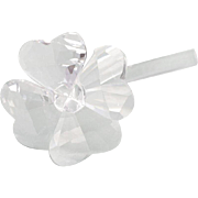 Vintage Swarovski Crystal Flower Power Figure