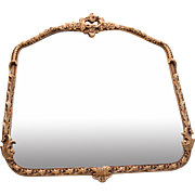 Gorgeous Vintage Gold Leaf Mirror