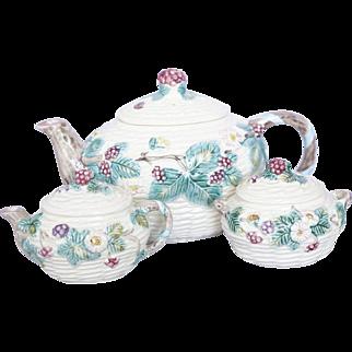 Vintage Ceramic Japanese Three Piece Tea Set, The Haldon Group