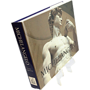 Exquisite Michelangelo Vintage Coffee Table Art Book
