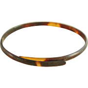 Fabulous Vintage Horn Bangle Bracelet