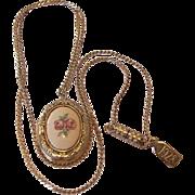 1928 Company Cameo Locket Necklace