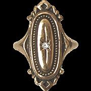 "Avon Victorian Revival Ring ""Kensington"" Size 5.0-5.25"