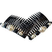 Decorated Hair Combs