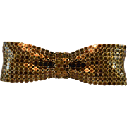1980's France Mesh Hair Barrette