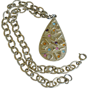 "Sarah Coventry ""Sultana"" Pendant Necklace"