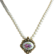 Victorian Revival Pendant Necklace - Avon