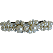 3.75 Inch Faux Pearls Hair Barrett
