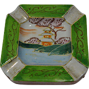 Occupied Japan Moriage Pagoda Ashtray