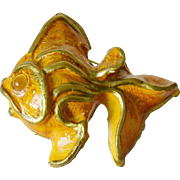 West Germany Gold Fish Pin